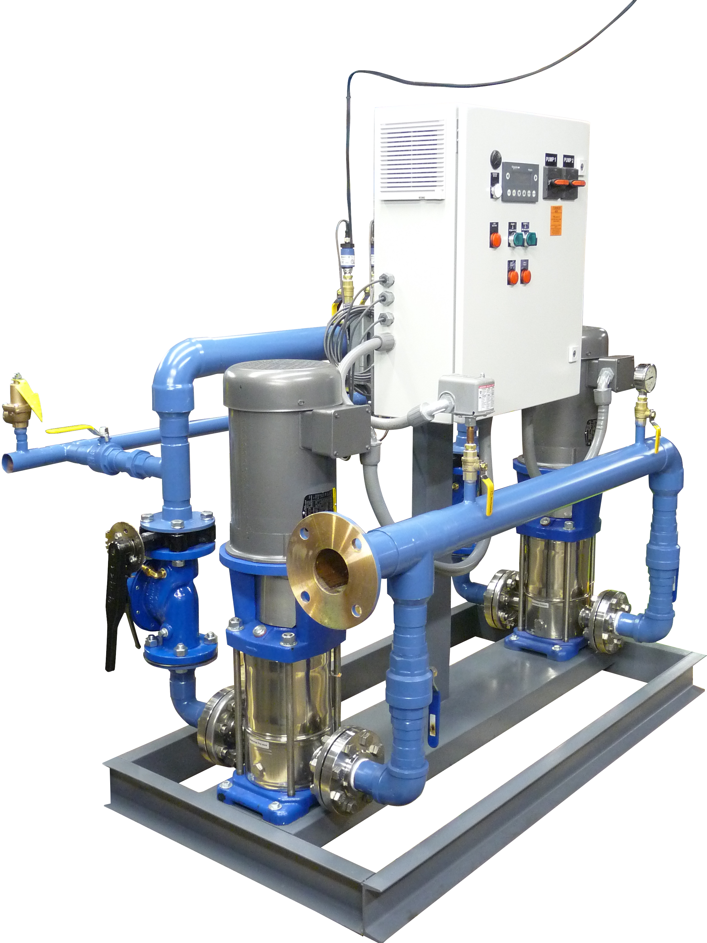 Water Pressure Booster System Air Flow Pump Corp