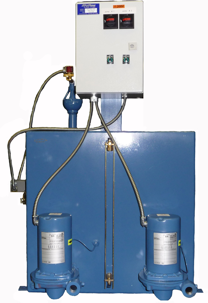 65 Gallon Boiler Feed Water System | Air Flow Pump Corp
